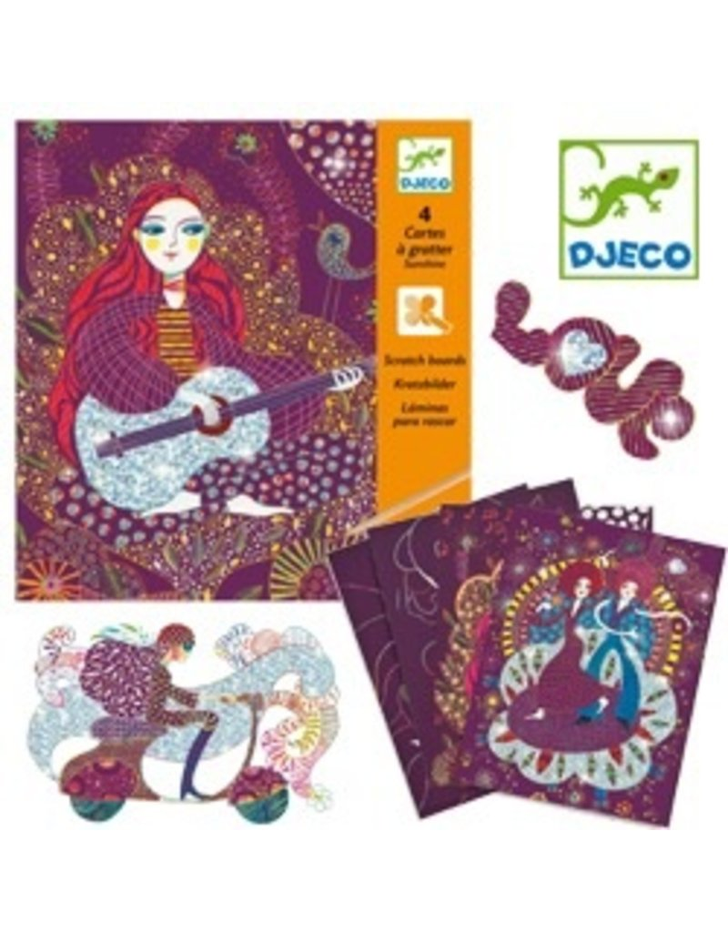 Djeco Djeco Scratch Cards - Sunshine