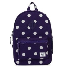 Herschel Herschel Heritage Youth - Purple Polka Dot