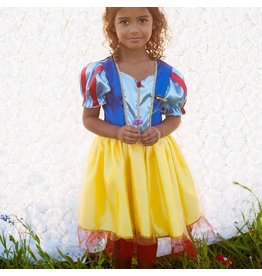 Snow White Tea Party Dress, Yellow, 5-6Y