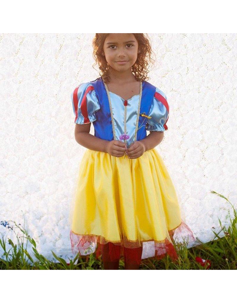 Snow White Tea Party Dress, Yellow, 5-6Y