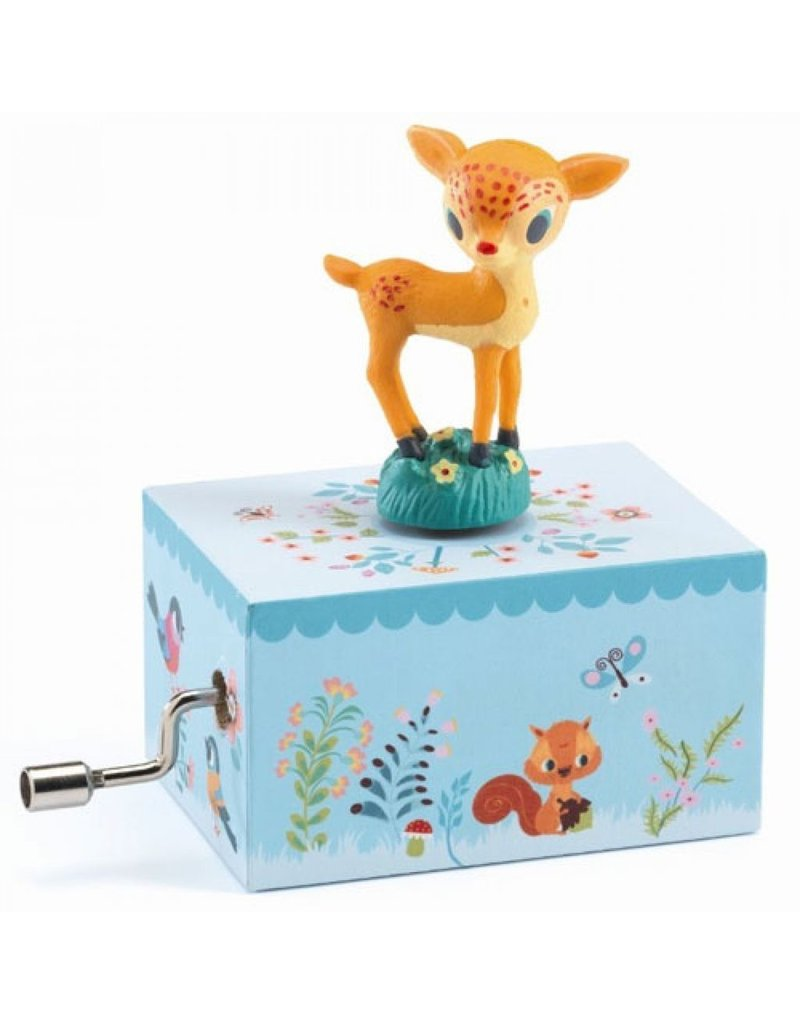 Djeco Djeco Hand-Crank Music Box - Fawn In The Woods