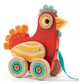 Djeco Pull Along Toy - Polka