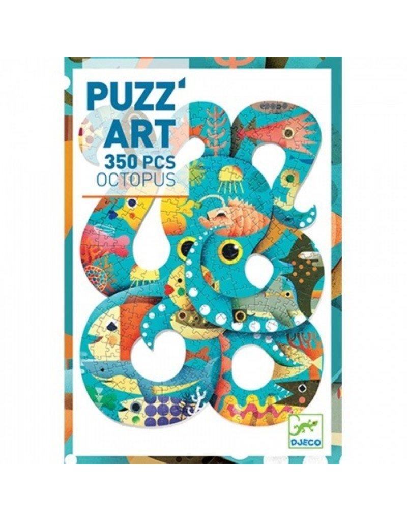 Djeco Djeco Puzz'art - Octopus - 350 pcs