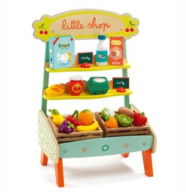 Djeco Djeco Little Shop Fruit Stand