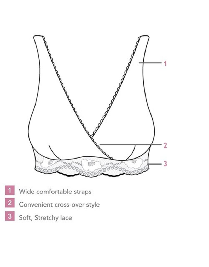 Carriwell Lace Nursing Bra
