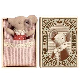 Maileg Mouse Baby Sleepy-Wakey w/Box