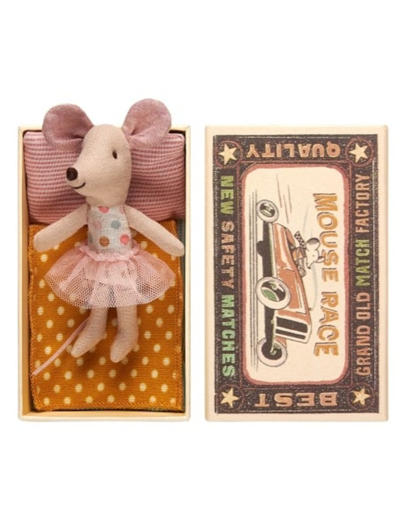Maileg Maileg Mouse in Box Little Sister with Tutu