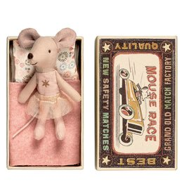 Maileg Mouse in Box - Little Sister w/Tutu + Star
