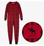 "Hatley ""Trailing Behind"" Buffalo Plaid Adult Union Suit"