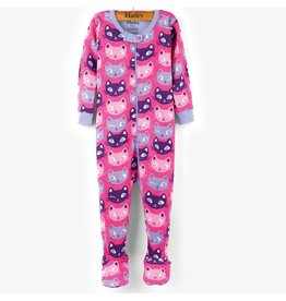 Hatley Silly Kitties Mini Footed Coverall