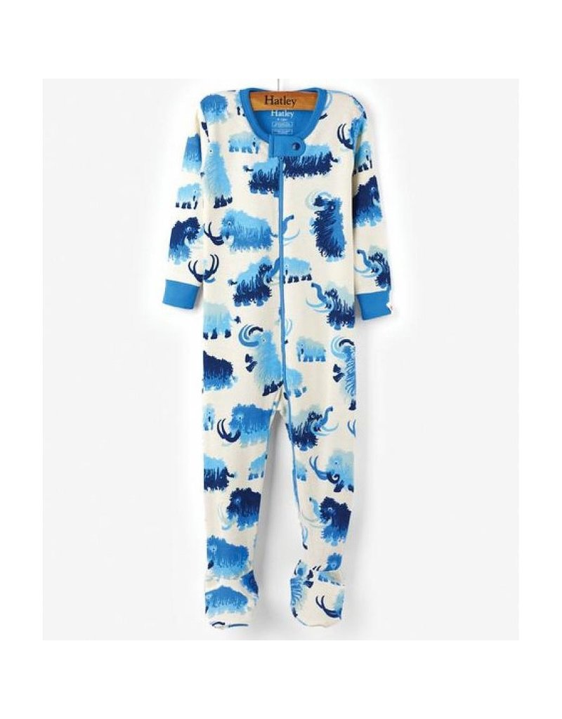 Hatley Silly Mammoth Mini Footed Coverall
