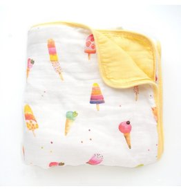 Loulou Lollipop Plush Bamboo Quilt - Ice Cream