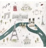 Loulou Lollipop Loulou Lollipop Plush Bamboo Paris Swaddle