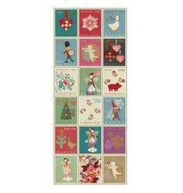 Maileg Maileg Xmas Stamps Napkins 16pk