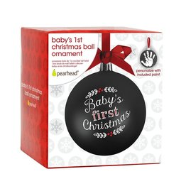 Pearhead Babyprints Ball Ornament