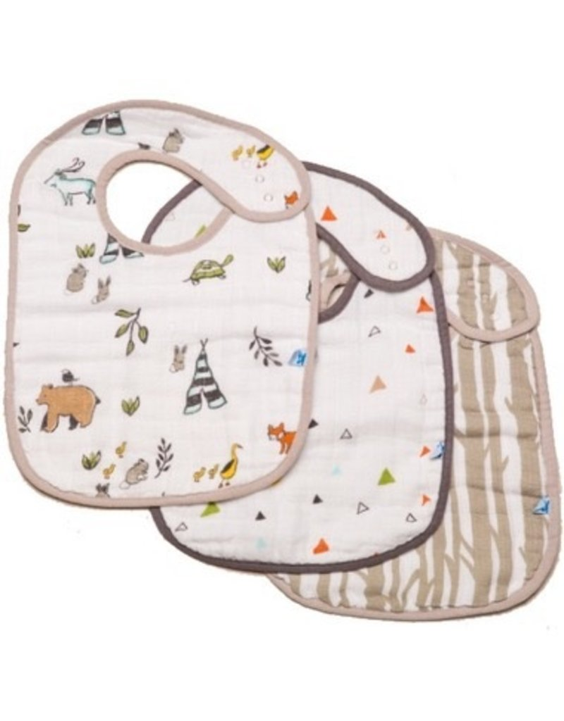 Little Unicorn Little Unicorn Cotton Muslin Bibs