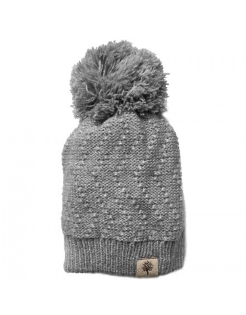 Knitted Hat w/Metallic