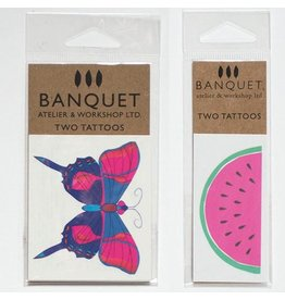 Banquet Banquet Temporary Tattoo