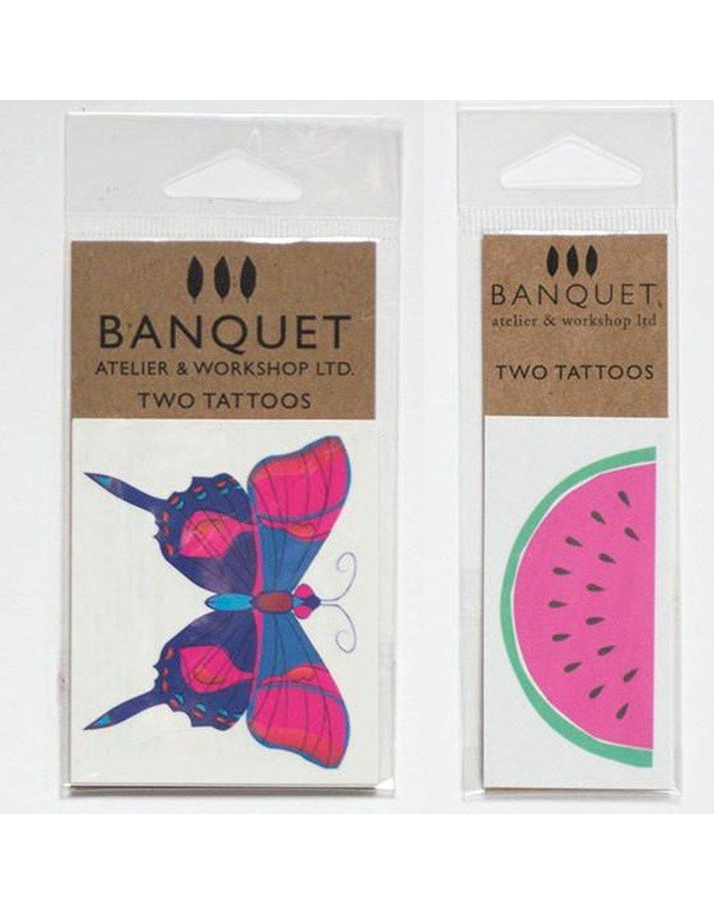 Banquet Banquet Temporary Tattoo