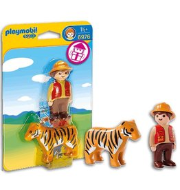 Playmobil Playmobil Gamekeeper with Tiger