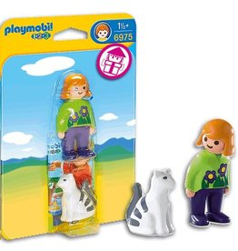 Playmobil Playmobil Woman with Cat