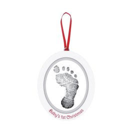 Baby's 1st Christmas Footprint Ornament