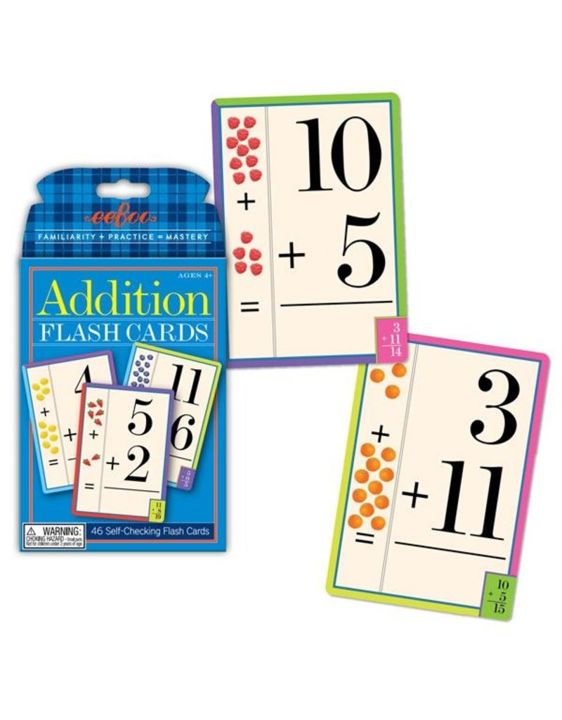Eeboo Eeboo Addition Flash Cards