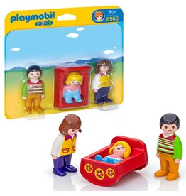Playmobil Playmobil Parents with Baby Cradle