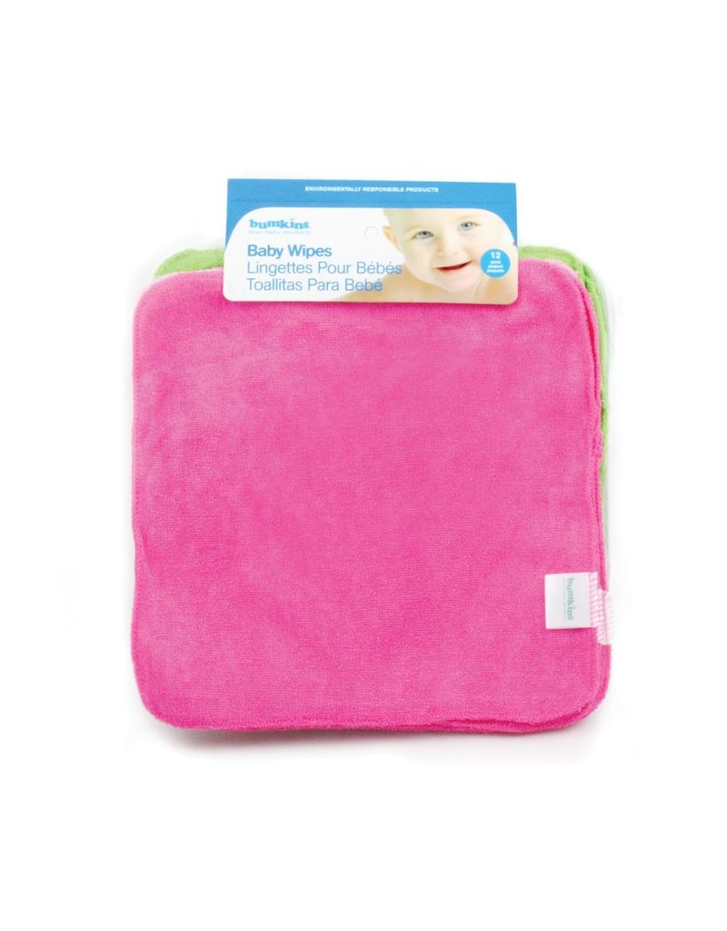 Bumkins Reusable Wipes 12pk