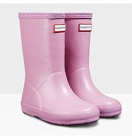 Hunter Boots Kid's First Hunter Glitter Boots Blossom