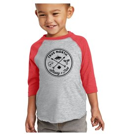 True North True North Heathered Raglan T-Shirt