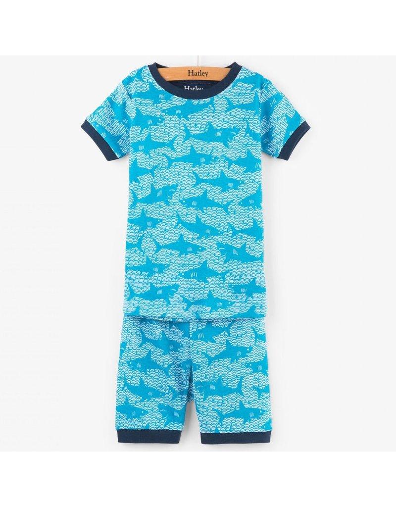 Hatley Shark Alley SS PJs - Vancouver s Best Baby   Kids Store ... f321f33f7