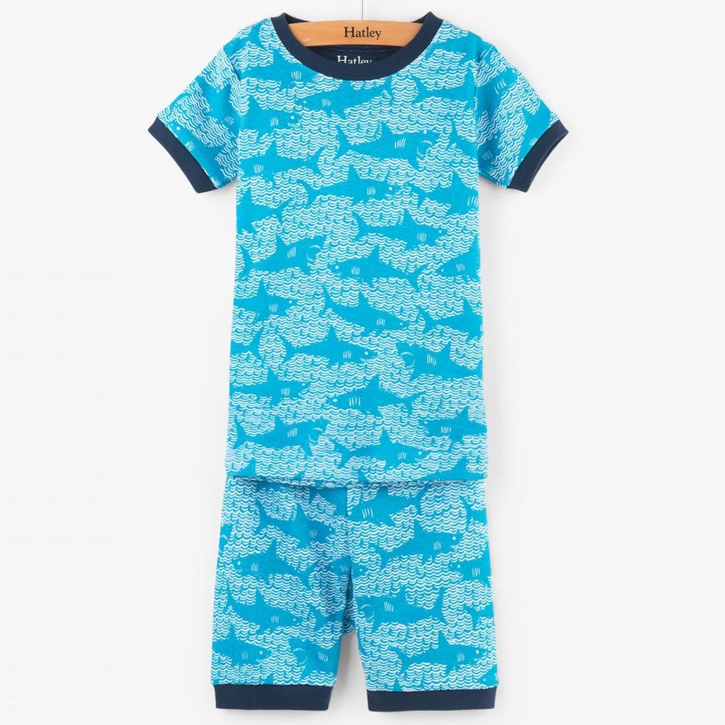 Hatley Shark Alley SS PJs - Vancouver s Best Baby   Kids Store  Unique  Gifts 51f1a79bc
