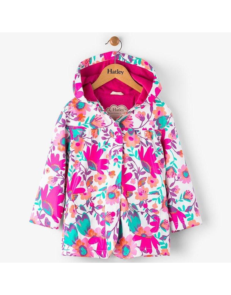 Hatley Tortuga Bay Floral Raincoat
