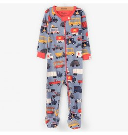 Hatley Rush Hour Footed Sleeper