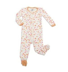 Silkberry Sprinkles Bamboo Footie
