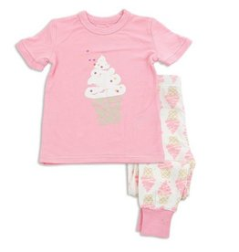 Silkberry Ice Cream Bamboo SS PJs