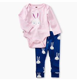 Tea Collection Bunny Onesie/Legging Set