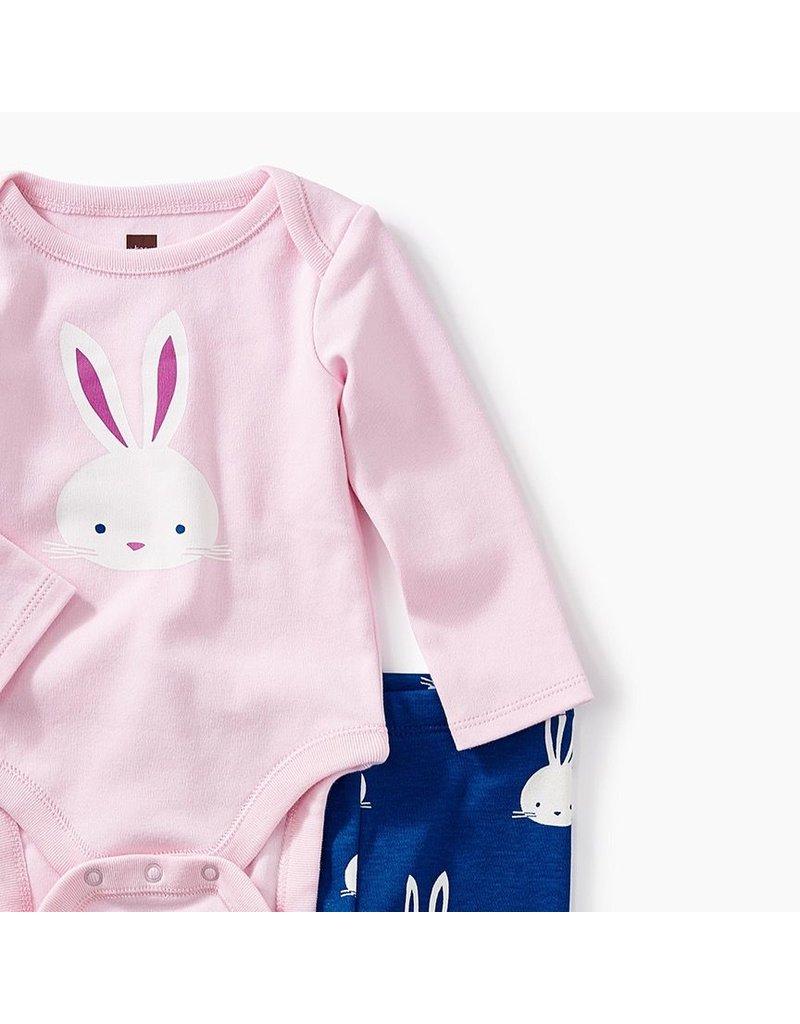 Tea Collection Bunny Onesie/Legging Set