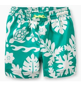 Tea Collection Green Pop Swim Trunks