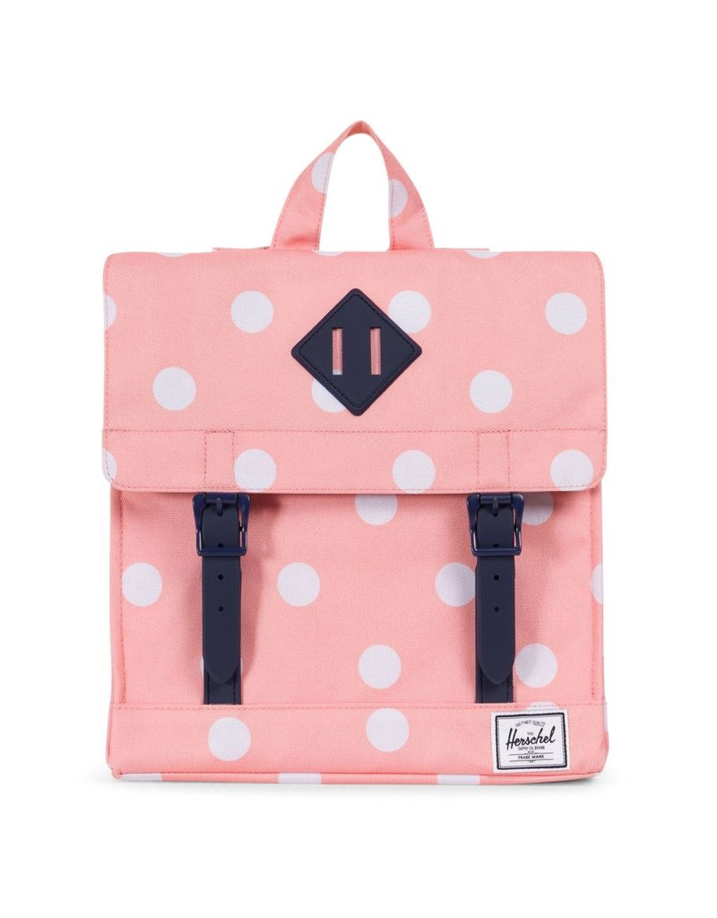 Herschel Survey Kids Peach Polka Dot