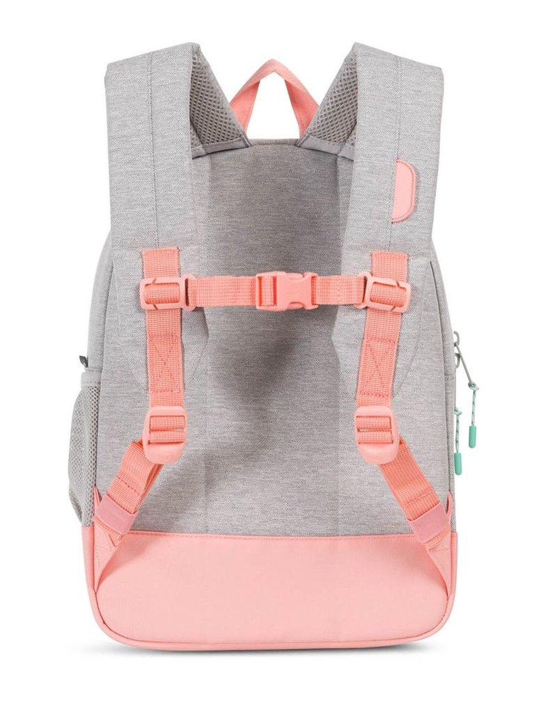 Herschel Youth Heritage Light Grey/Peach