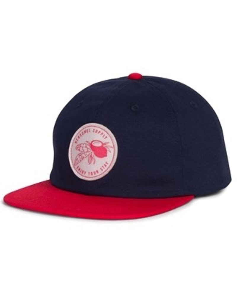 Herschel Outfield Cap Navy/Red
