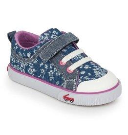 See Kai Run Kristin Floral Sneakers