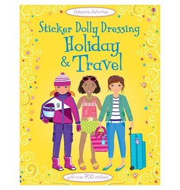 Usborne Sticker Book: Holiday & Travel