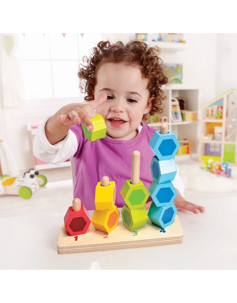 Hape Toys Counting Stacker
