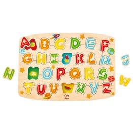 Hape Toys Alphabet Peg Puzzle
