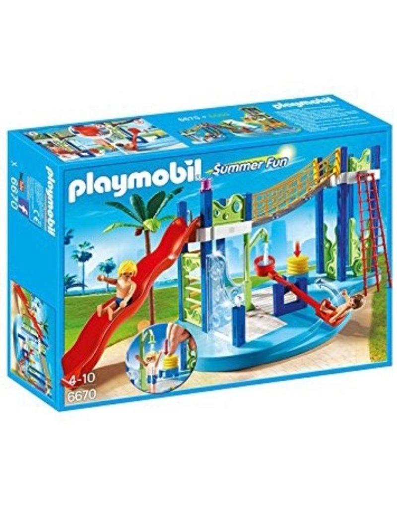 Playmobil Playmobil Summer Camper Water Park