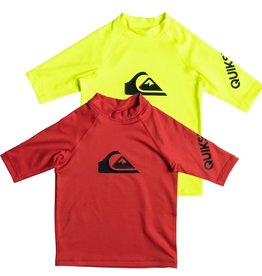 Quiksilver Quiksilver All Time Short Sleeve UPF 50 Rashguard