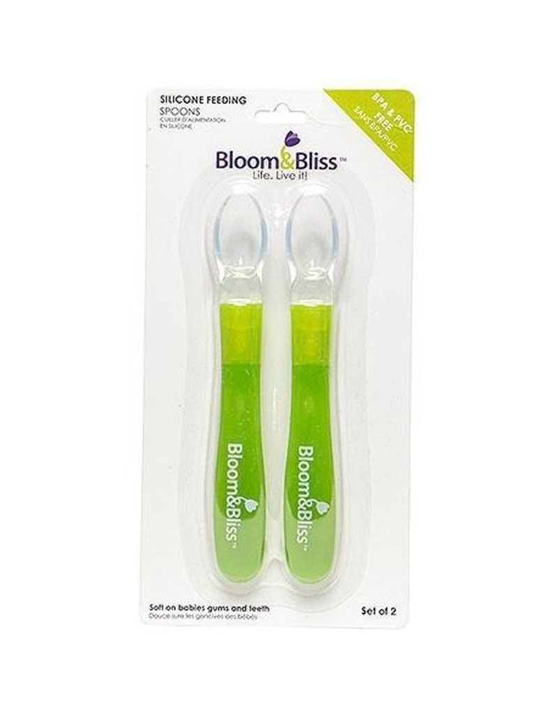 Bloom & Bliss Silicone Spoons - 2PK